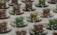 3D tapety čaj